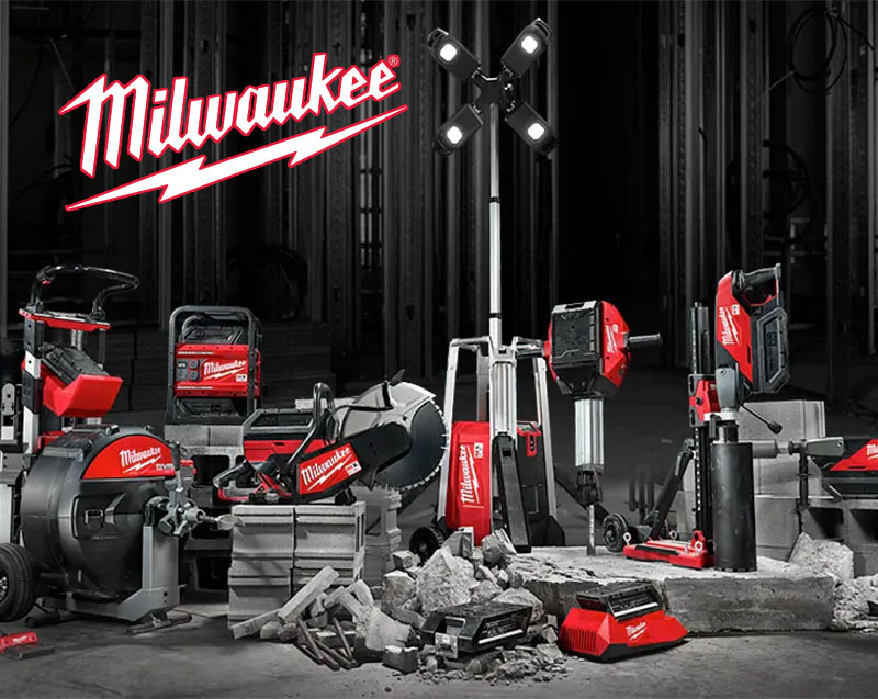 Milwaukee Tools at Harboar Hardware in Egg Harbor, Wisconsin