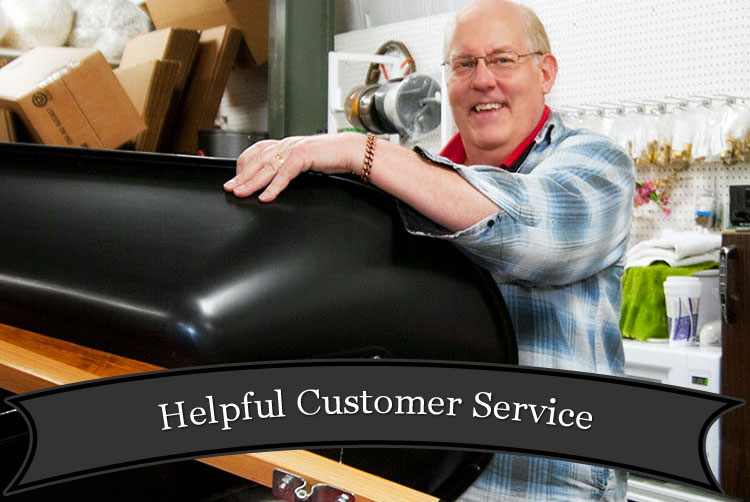 Helpful Customer Service at Harbor Hardware Store in Door County, WI