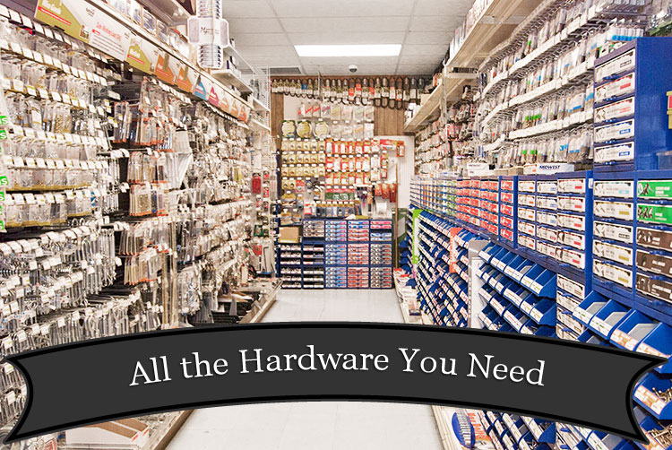 Home Renovation and Building Supply Store at Harbor Hardware in Door County, WI