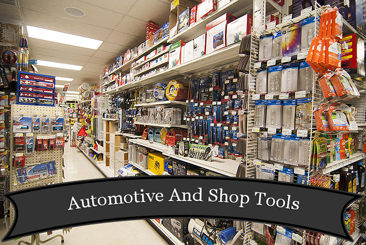 Automotive Tools and Supplies at Harbor Hardware in Door County, WI