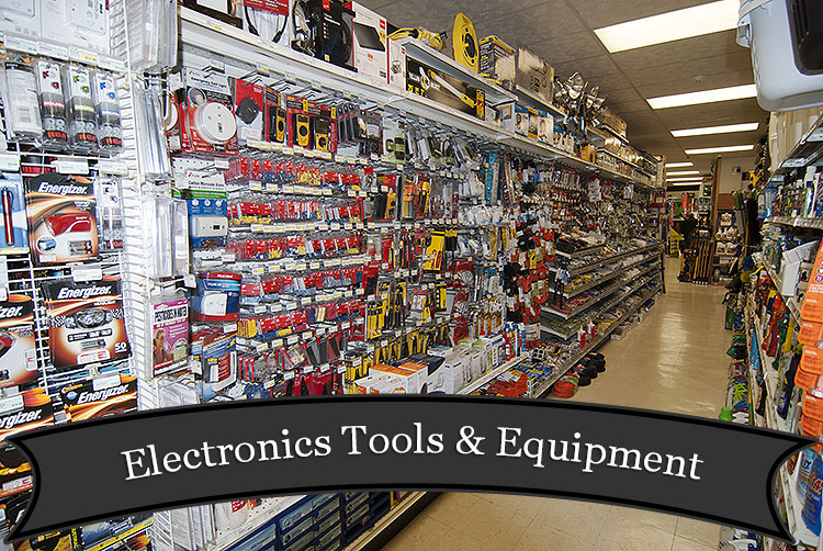 Electronics Tools and Equipment at Harbor Hardware in Door County, WI