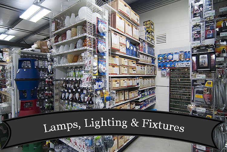 Lamps, Lighting and Fixtures at Harbor Hardware in Door County, WI