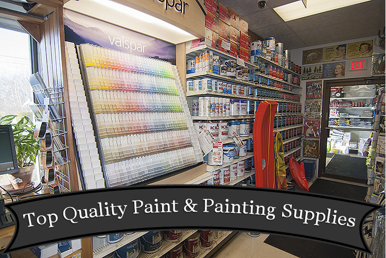 Paint and Painting Supplies at Harbor Hardware in Door County, WI