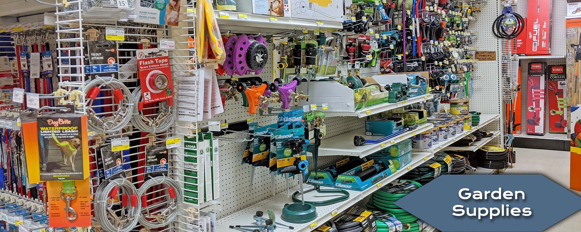 Shop and Buy Gardening Supplies at Harbor Hardware Store in Door County, WI