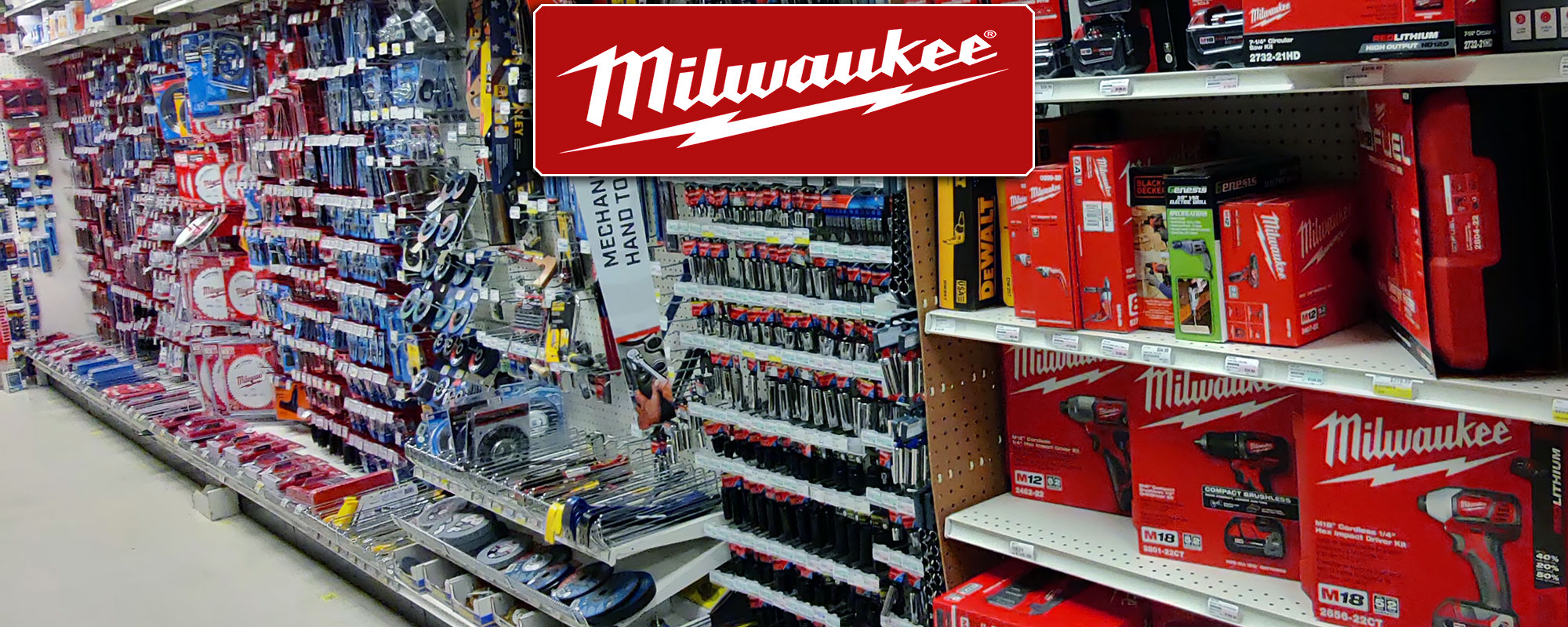 Shop and Buy Milwaukee Tools Brand at Harbor Hardware Store in Door County, WI