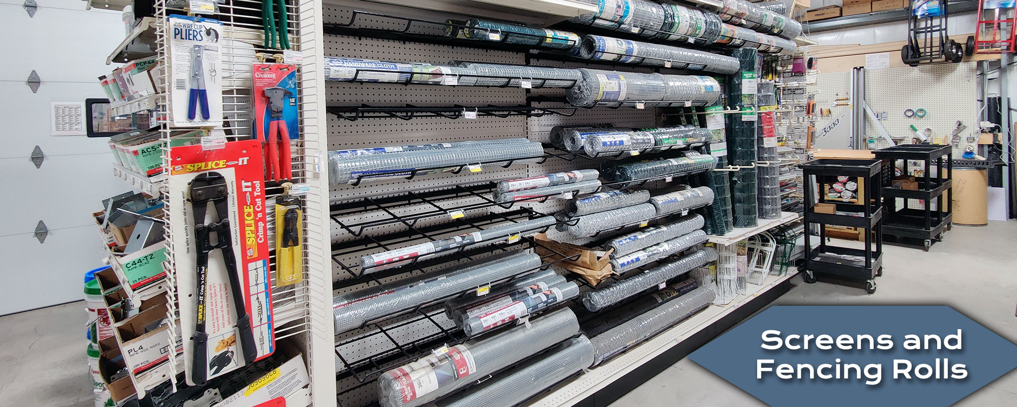 Shop and Buy Screens and Fencing at Harbor Hardware Store in Door County, WI