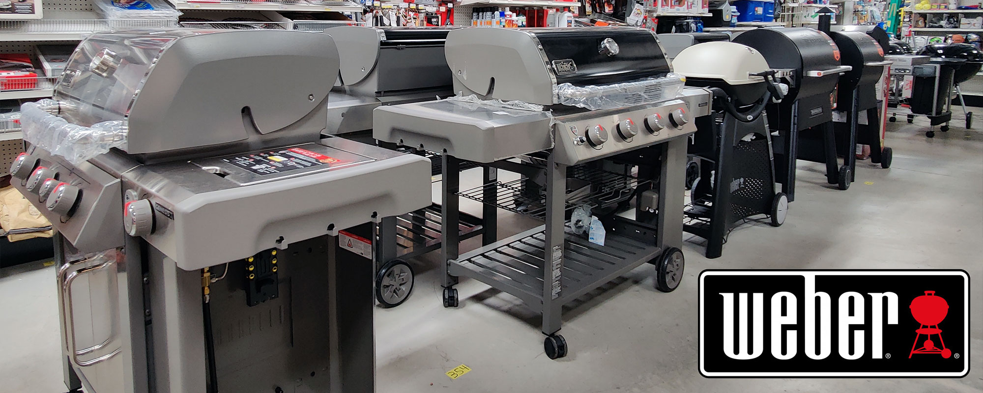 Shop and Buy Weber Grills and Accessories at Harbor Hardware Store in Door County, WI